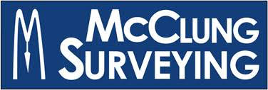 Mcclung Surveying Logo
